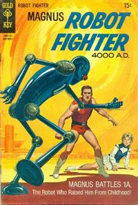 Cover Thumbnail for Magnus, Robot Fighter (Western, 1963 series) #28
