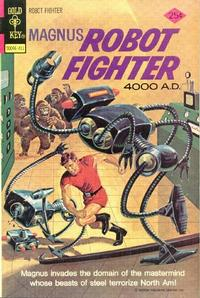 Cover Thumbnail for Magnus, Robot Fighter (Western, 1963 series) #37 [Gold Key]