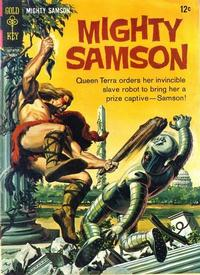 Cover Thumbnail for Mighty Samson (Western, 1964 series) #9