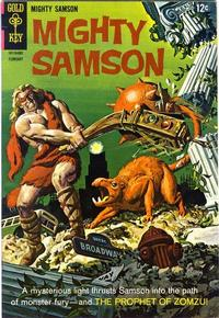 Cover Thumbnail for Mighty Samson (Western, 1964 series) #13