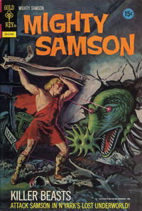 Cover Thumbnail for Mighty Samson (Western, 1964 series) #21