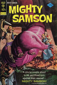 Cover Thumbnail for Mighty Samson (Western, 1964 series) #25 [Gold Key Variant]