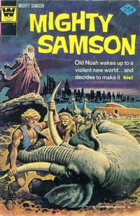 Cover Thumbnail for Mighty Samson (Western, 1964 series) #27 [Whitman Variant]