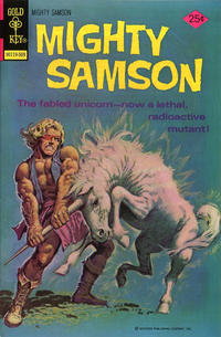 Cover Thumbnail for Mighty Samson (Western, 1964 series) #29 [Gold Key]