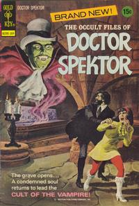 Cover Thumbnail for The Occult Files of Dr. Spektor (Western, 1973 series) #1