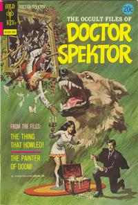 Cover Thumbnail for The Occult Files of Dr. Spektor (Western, 1973 series) #2