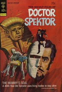 Cover Thumbnail for The Occult Files of Dr. Spektor (Western, 1973 series) #3