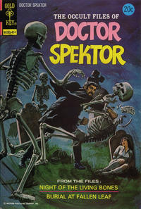 Cover Thumbnail for The Occult Files of Dr. Spektor (Western, 1973 series) #7