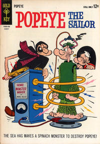 Cover Thumbnail for Popeye the Sailor (Western, 1962 series) #73