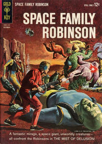 Cover Thumbnail for Space Family Robinson (Western, 1962 series) #5
