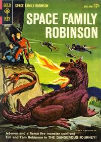 Cover Thumbnail for Space Family Robinson (Western, 1962 series) #7