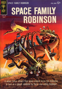 Cover Thumbnail for Space Family Robinson (Western, 1962 series) #9
