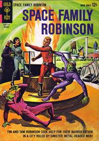 Cover Thumbnail for Space Family Robinson (Western, 1962 series) #10