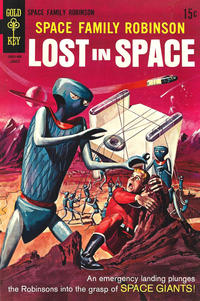 Cover Thumbnail for Space Family Robinson Lost in Space (Western, 1966 series) #35