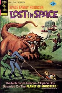 Cover Thumbnail for Space Family Robinson, Lost in Space on Space Station One (Western, 1974 series) #45