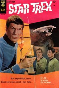 Cover Thumbnail for Star Trek (Western, 1967 series) #1