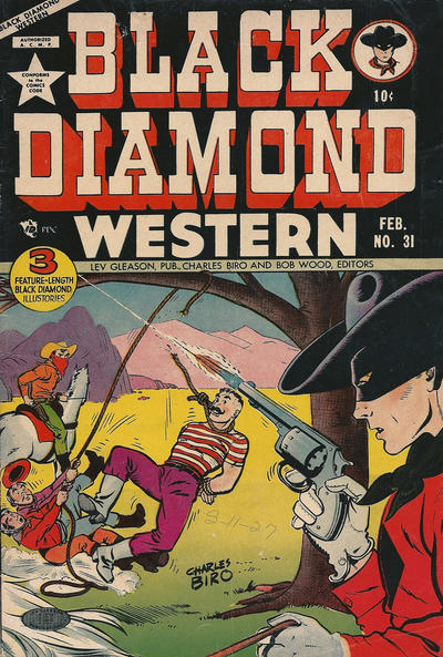 Cover for Black Diamond Western (Lev Gleason, 1949 series) #31