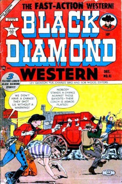Cover for Black Diamond Western (Lev Gleason, 1949 series) #41