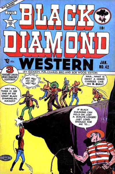 Cover for Black Diamond Western (Lev Gleason, 1949 series) #42