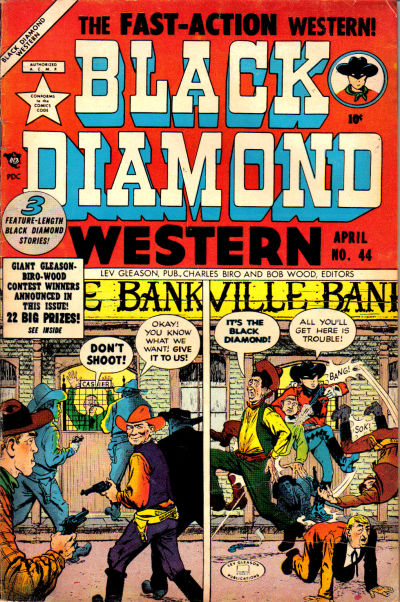 Cover for Black Diamond Western (Lev Gleason, 1949 series) #44