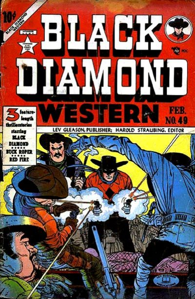 Cover for Black Diamond Western (Lev Gleason, 1949 series) #49