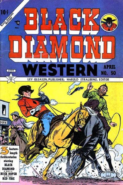 Cover for Black Diamond Western (Lev Gleason, 1949 series) #50
