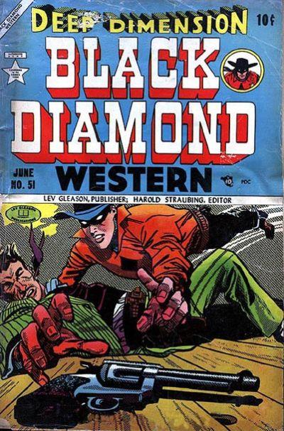 Cover for Black Diamond Western (Lev Gleason, 1949 series) #51