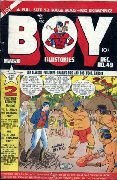Cover for Boy Comics (Lev Gleason, 1942 series) #49
