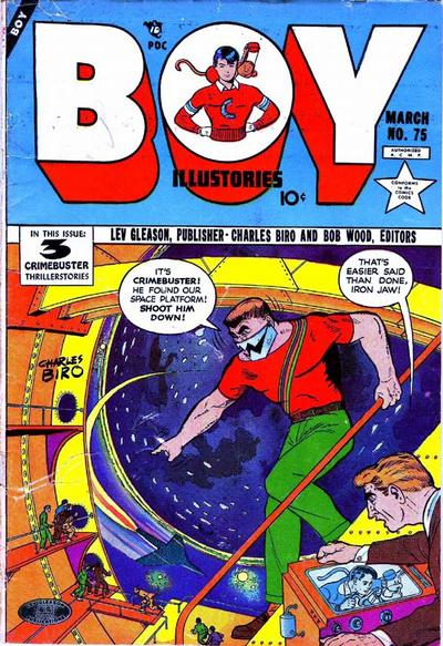 Cover for Boy Comics (Lev Gleason, 1942 series) #75