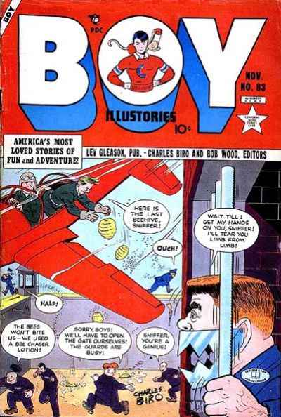 Cover for Boy Comics (Lev Gleason, 1942 series) #83
