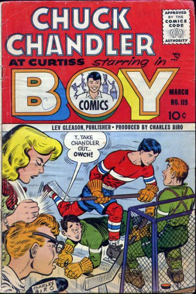 Cover for Boy Comics (Lev Gleason, 1942 series) #119