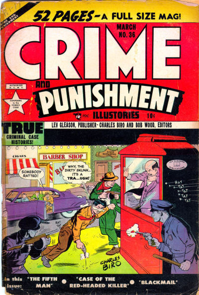 Cover for Crime and Punishment (Lev Gleason, 1948 series) #36