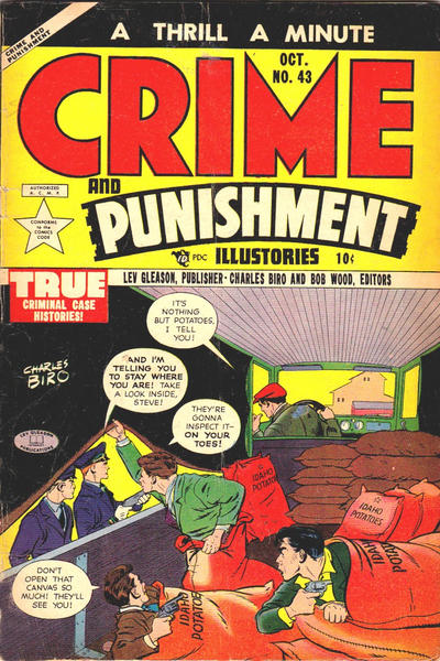 Cover for Crime and Punishment (Lev Gleason, 1948 series) #43