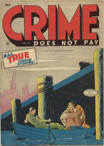 Cover for Crime Does Not Pay (Lev Gleason, 1942 series) #39