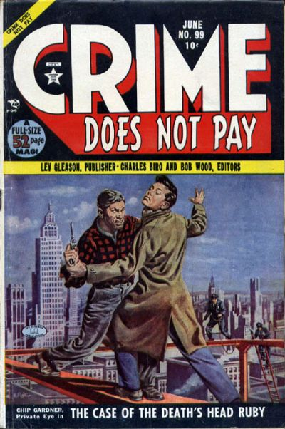 Cover for Crime Does Not Pay (Lev Gleason, 1942 series) #99