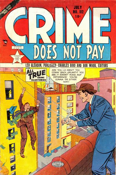 Cover for Crime Does Not Pay (Lev Gleason, 1942 series) #112