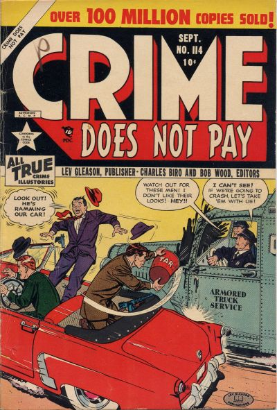 Cover for Crime Does Not Pay (Lev Gleason, 1942 series) #114