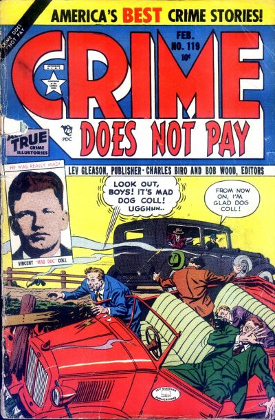 Cover for Crime Does Not Pay (Lev Gleason, 1942 series) #119