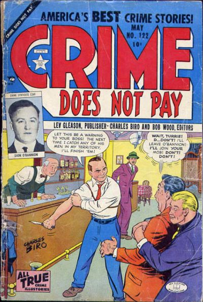Cover for Crime Does Not Pay (Lev Gleason, 1942 series) #122