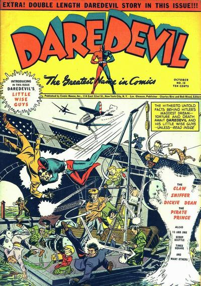 Cover for Daredevil Comics (Lev Gleason, 1941 series) #13