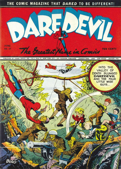 Cover for Daredevil Comics (Lev Gleason, 1941 series) #17