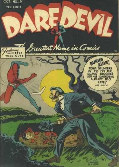 Cover for Daredevil Comics (Lev Gleason, 1941 series) #19
