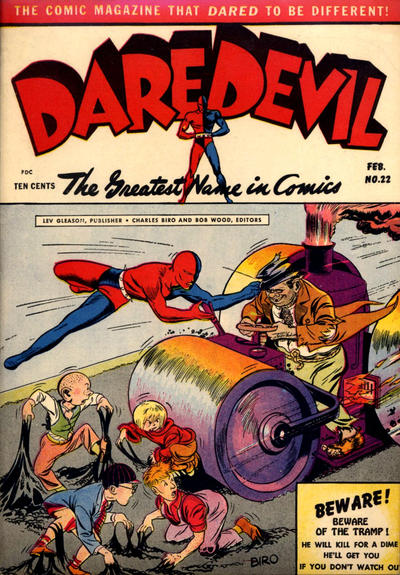 Cover for Daredevil Comics (Lev Gleason, 1941 series) #22