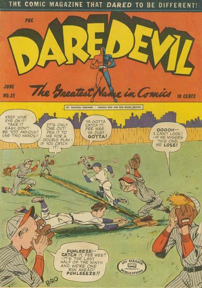 Cover for Daredevil Comics (Lev Gleason, 1941 series) #25