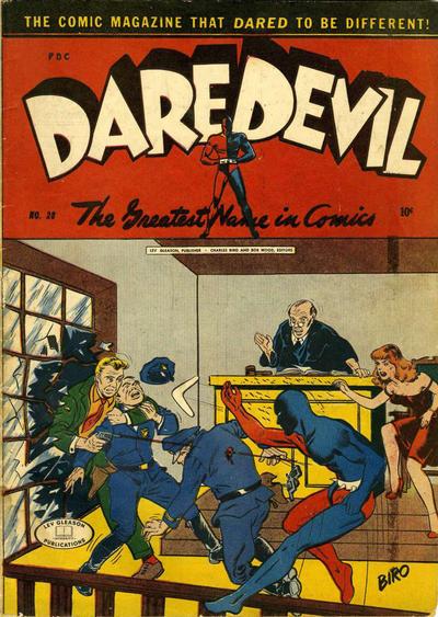 Cover for Daredevil Comics (Lev Gleason, 1941 series) #28