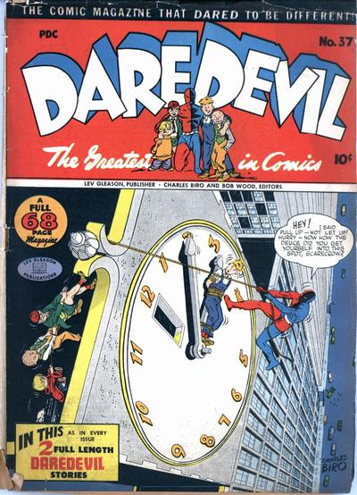 Cover for Daredevil Comics (Lev Gleason, 1941 series) #37