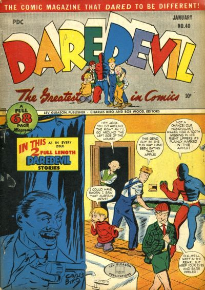 Cover for Daredevil Comics (Lev Gleason, 1941 series) #40