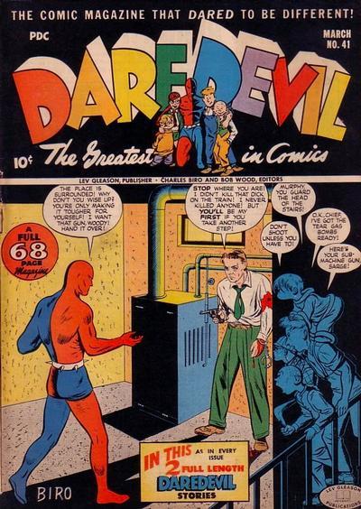 Cover for Daredevil Comics (Lev Gleason, 1941 series) #41