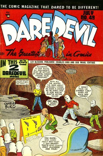 Cover for Daredevil Comics (Lev Gleason, 1941 series) #49
