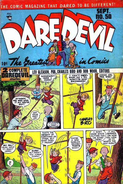Cover for Daredevil Comics (Lev Gleason, 1941 series) #50